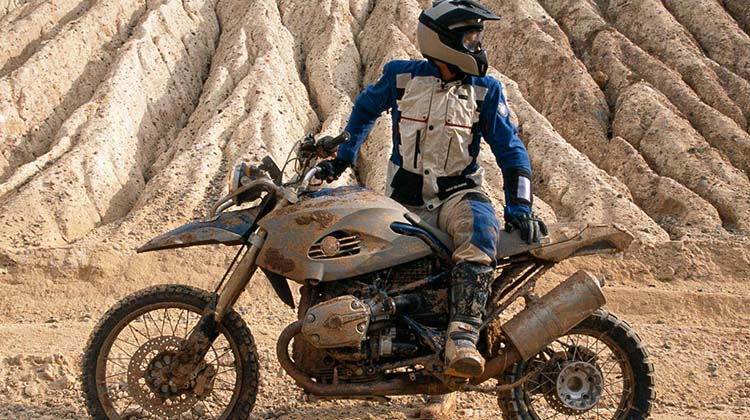BMW HP2 Enduro sterrato