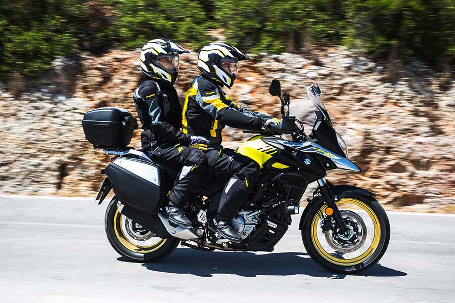 Suzuki V-Strom 650 XT prova in due